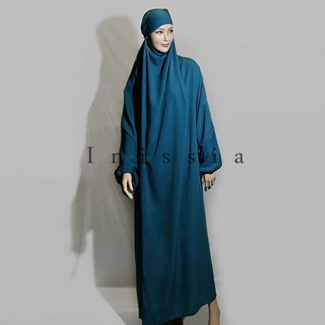 achats style exquis matériaux de haute qualité Jilbab 1 pièces - Grossiste vêtement femme musulmane ...