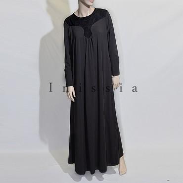 robe grande taille dentelle