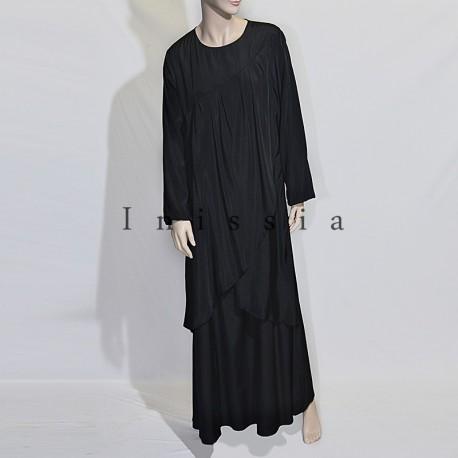 robe grande taille croisé