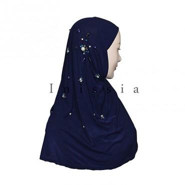 Hijab perlé - Grossiste Inissia