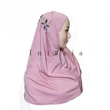 Hijab rosace - Grossiste Inissia