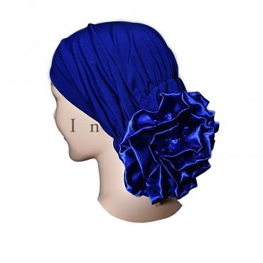 Bonnet fleur femme musulmane - Inissia grossiste