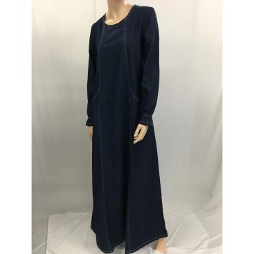 Grossiste robe musulmane en jean