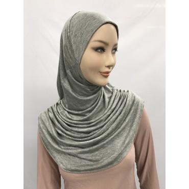 Hijab plissé 1 pc en viscose