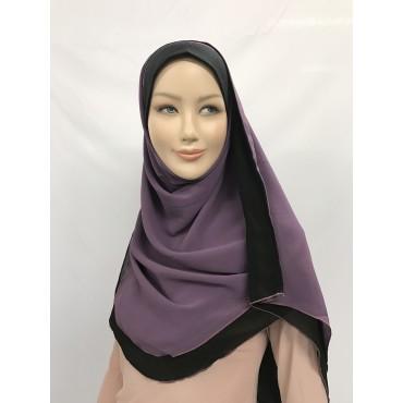 Hijab réversible