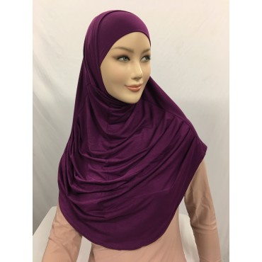 GROSSISTE HIJAB 2 PCS EN VISCOSE