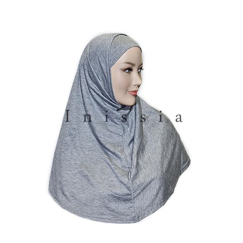 hijab coton 2 pcs