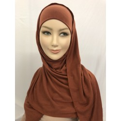 HIJAB PRET A ENFILER SIMPLE TOUT VISCOSE