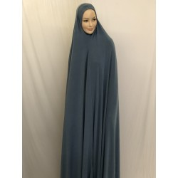 LONG HIJAB DE PRIERE UNE PIECE